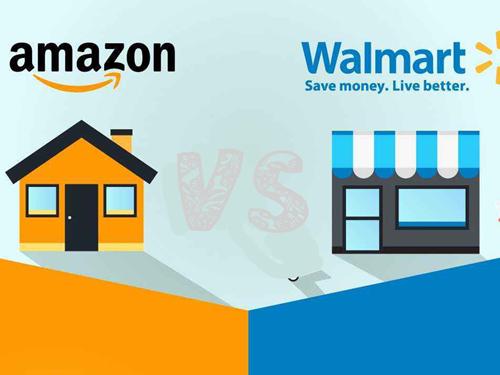 国外电商的新零售之战 亚马逊和沃尔玛更看好谁